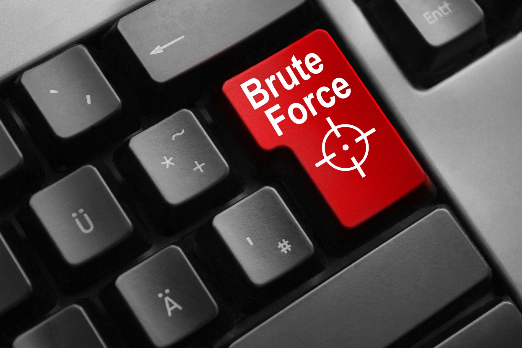 Brute Force icon on keyboard