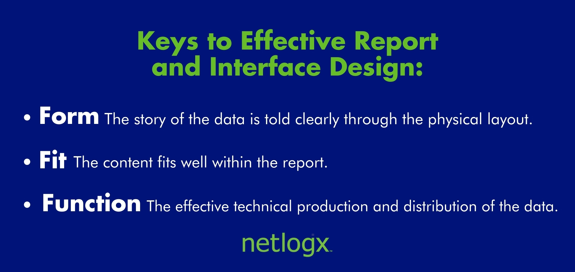 Report-and-Interface-Design